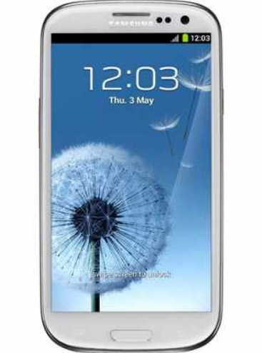 Price of Samsung Galaxy S3 is Rs 39990 at Saholic