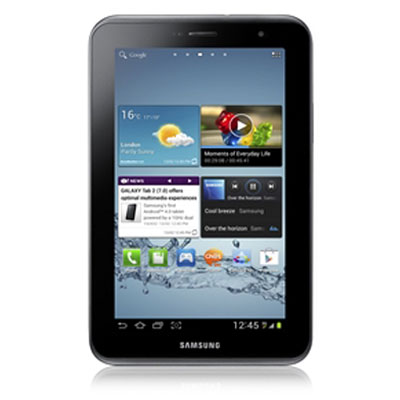 Specifications of Samsung Galaxy Tab 2 GT-P3100