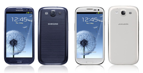 Specifications of Samsung Galaxy SIII