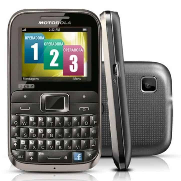 Motorola's MotoKey 3-Chip triple SIM handset launched in Brazil