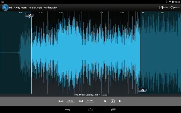 How to use Mp3 Cutter on Android Smartphone?