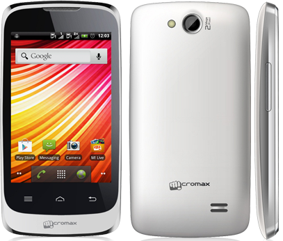 Full Phone Specifications of Micromax Bolt A51