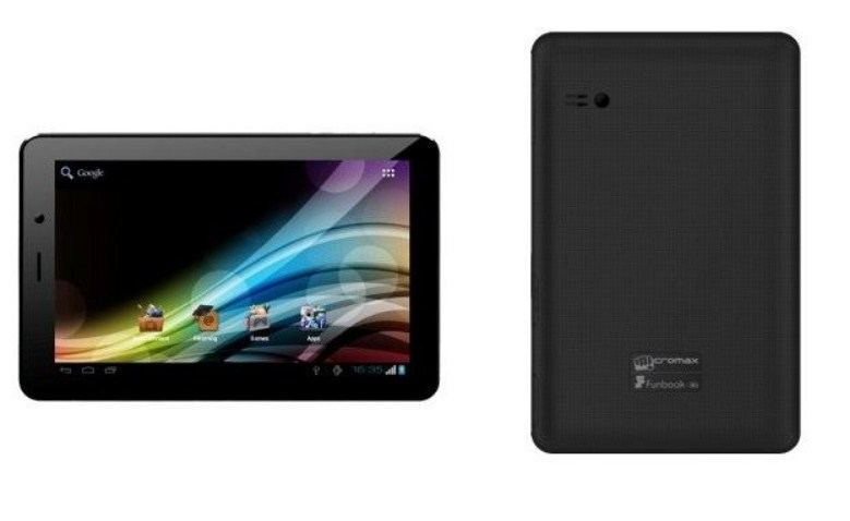 Micromax Funbook 3G now available at online stores in India under Rs 9k