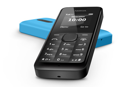 Nokia 105 releasing in India in April for Rs 1200