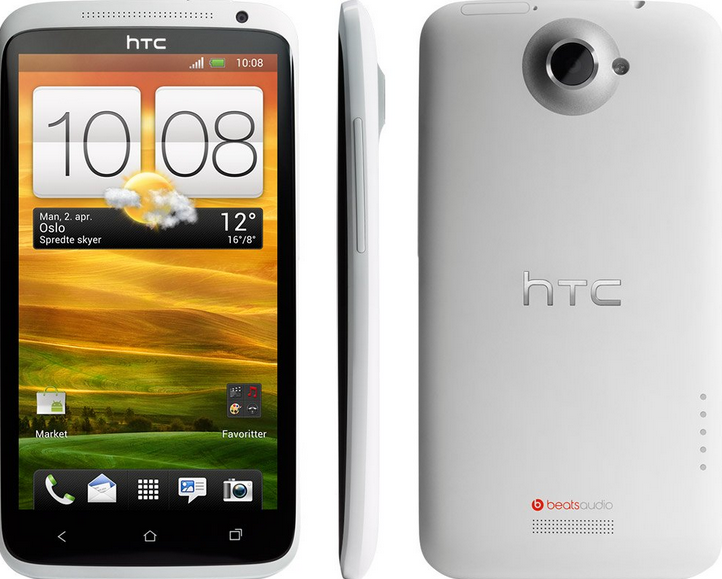 Specifications of HTC One X