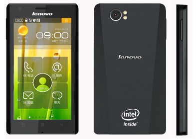 Lenovo's Intel Powered Android Smartphones Coming soon to India