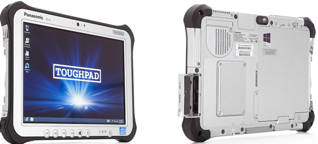 Panasonic's Toughpad tablets for sturdy conditions