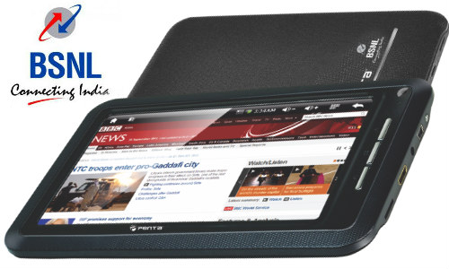New Price of BSNL Penta Tablet TPAD IS701R is Rs 3999